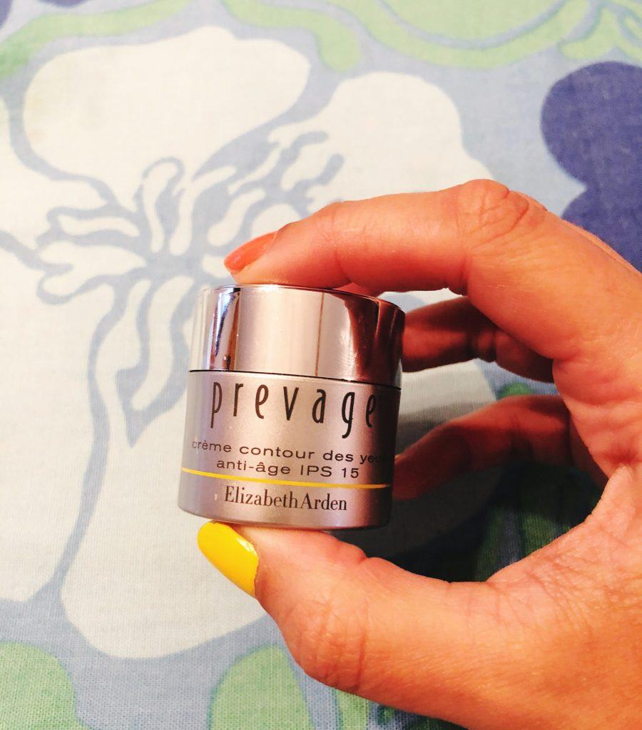 min nya kvällsrutin Elizabeth Arden Prevage anti-aging eye cream