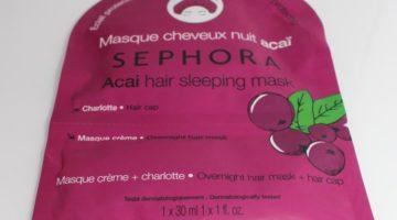 Acai hair sleeping mask