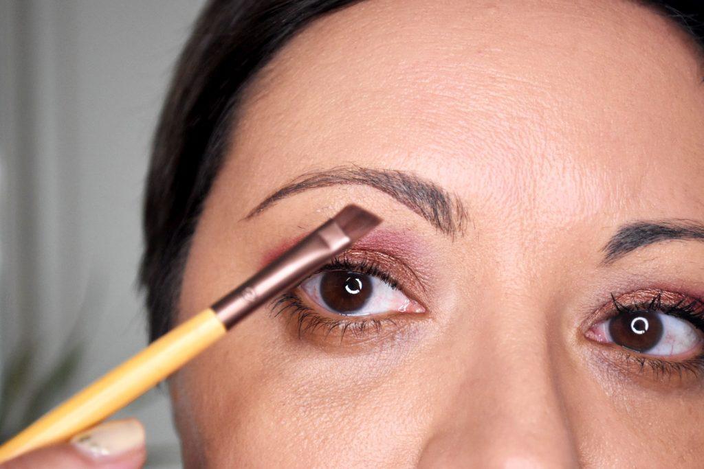 naturliga ögonbryn Tinas Beautyresa Ecotools