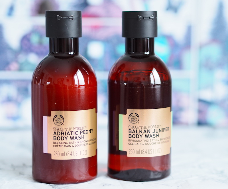 The Body Shop SPA of the World Body Washes