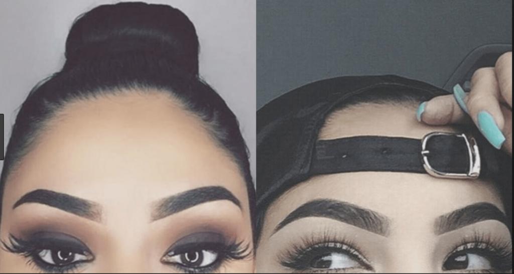 naturliga ögonbryn NOT