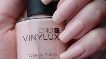 CND Vinylux Nude The collection