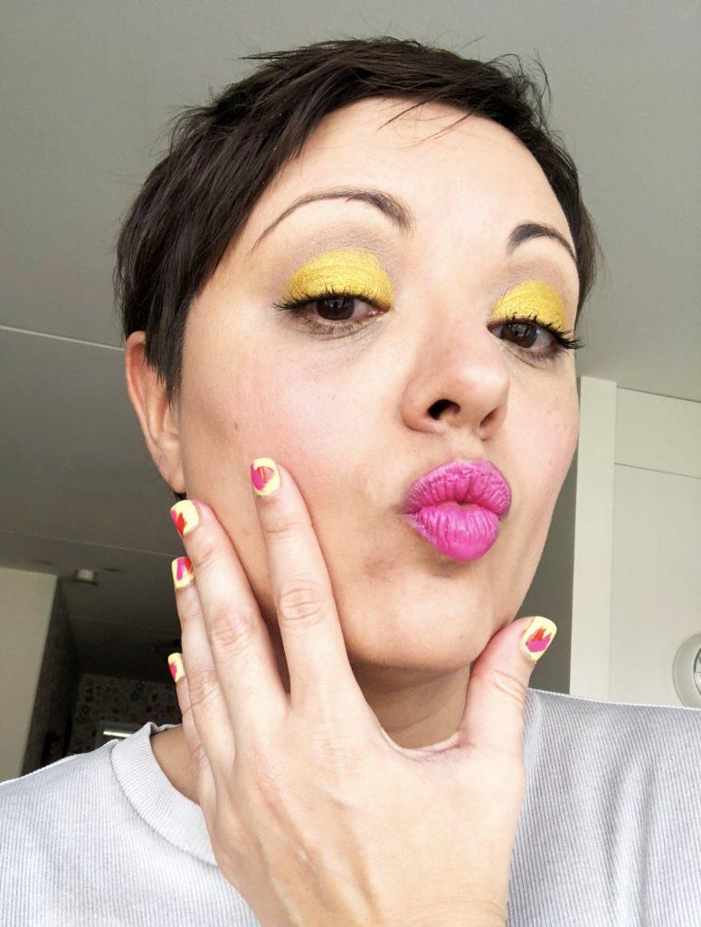 färgglada vårnaglar manikyr dior l'oréal paris