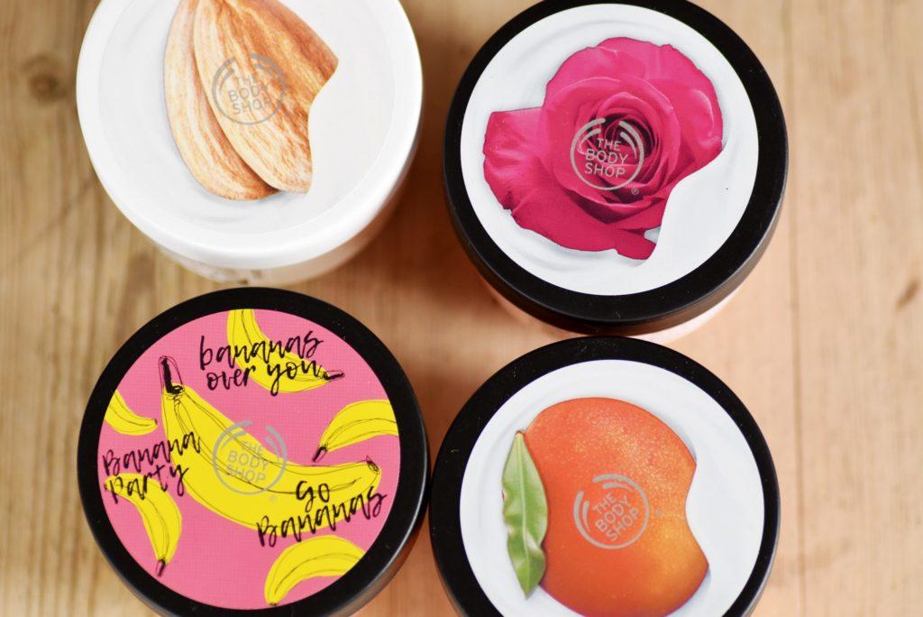 Fast absorbing body yogurts från Body shop