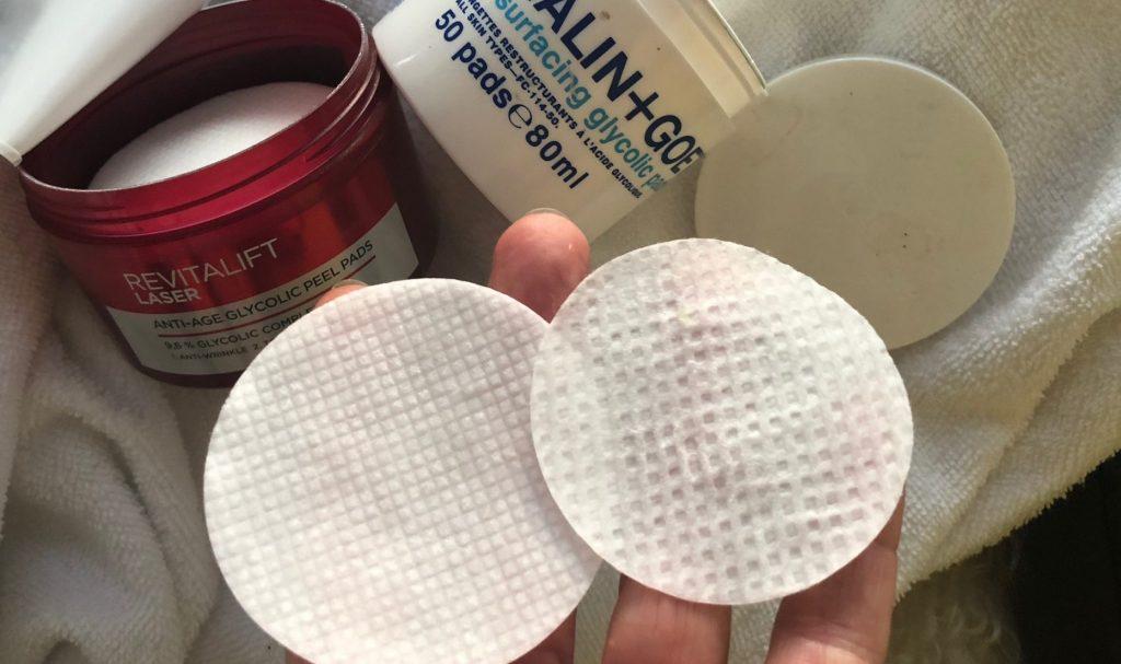 Peel pads