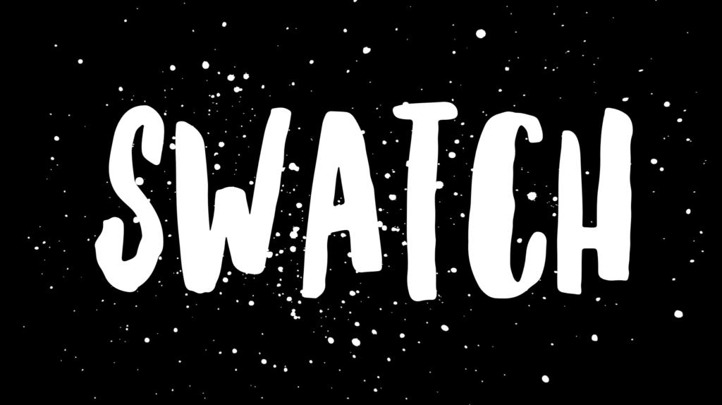 Tinas beautyordbok: swatch, swatcha