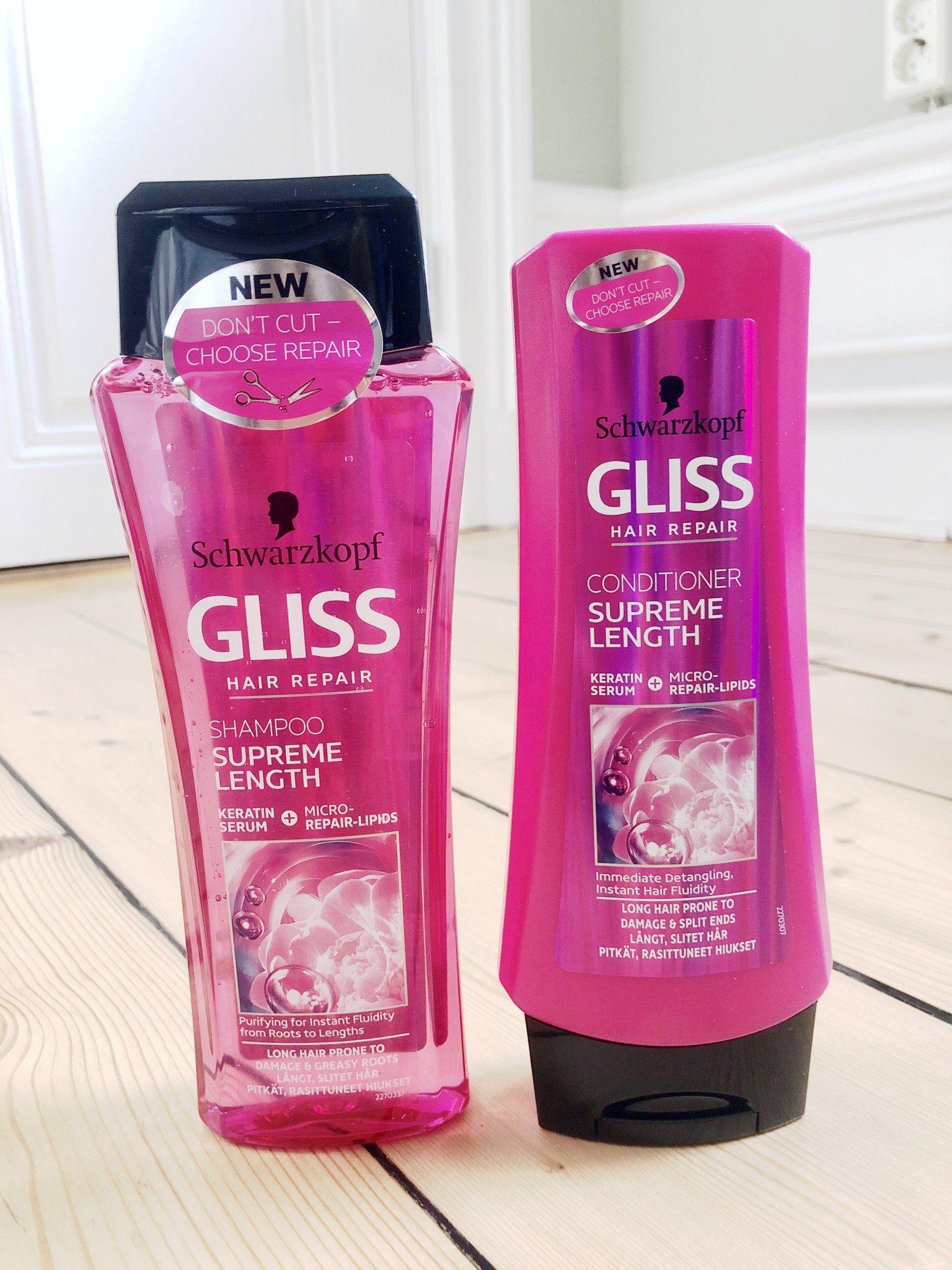 shampoo för längre hår