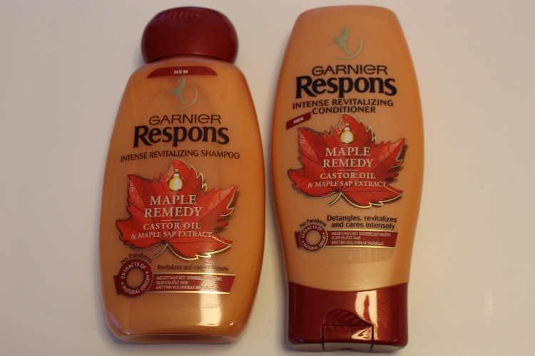 Garnier Respons Maple Remedy