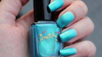 Scratch nail 502 Turqoise