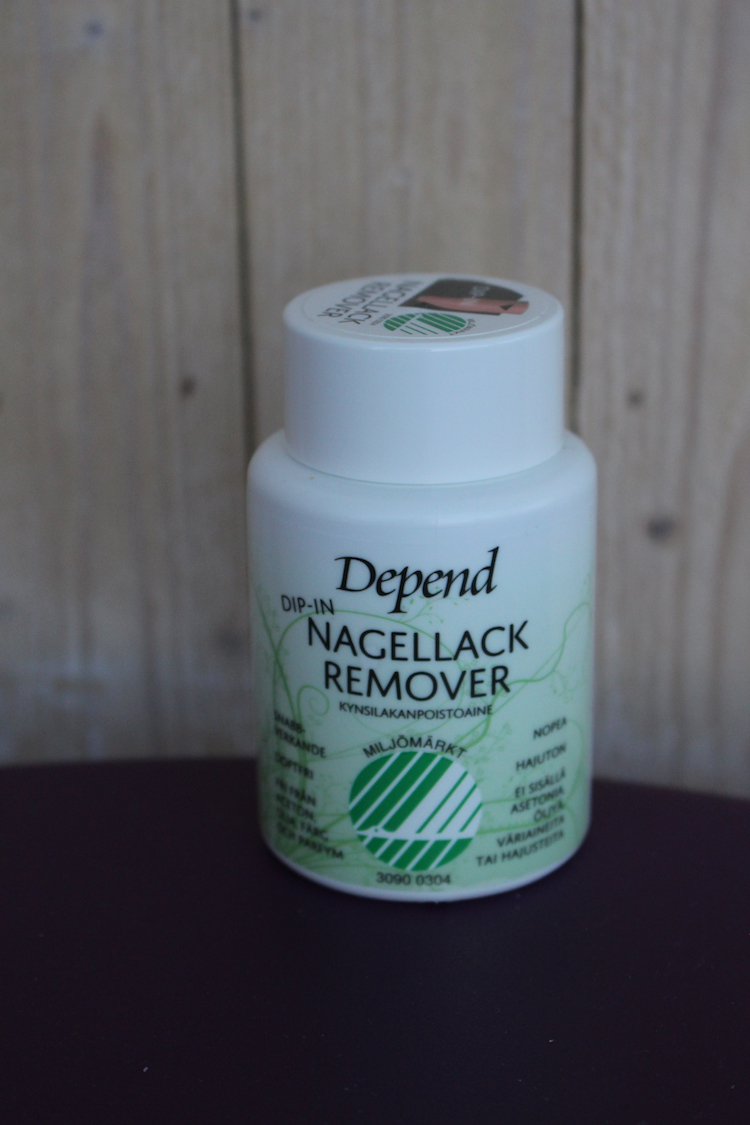 Depend Dip-in nagellack remover
