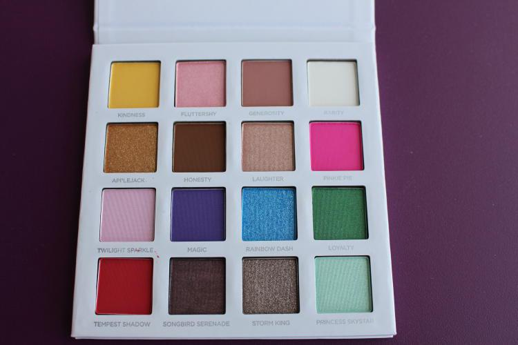 My Little Pony the movie palette