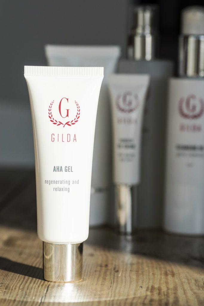 Skräddarsydd hudvård från Gilda Cosmetic AHA gel