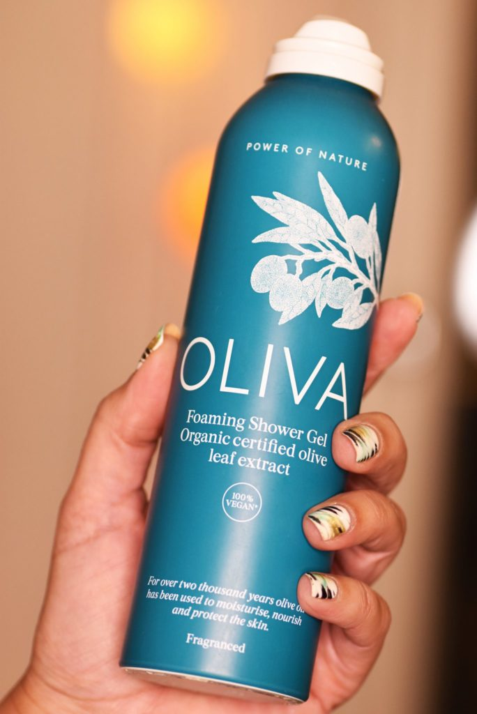 Oliva Foaming Shower Gel