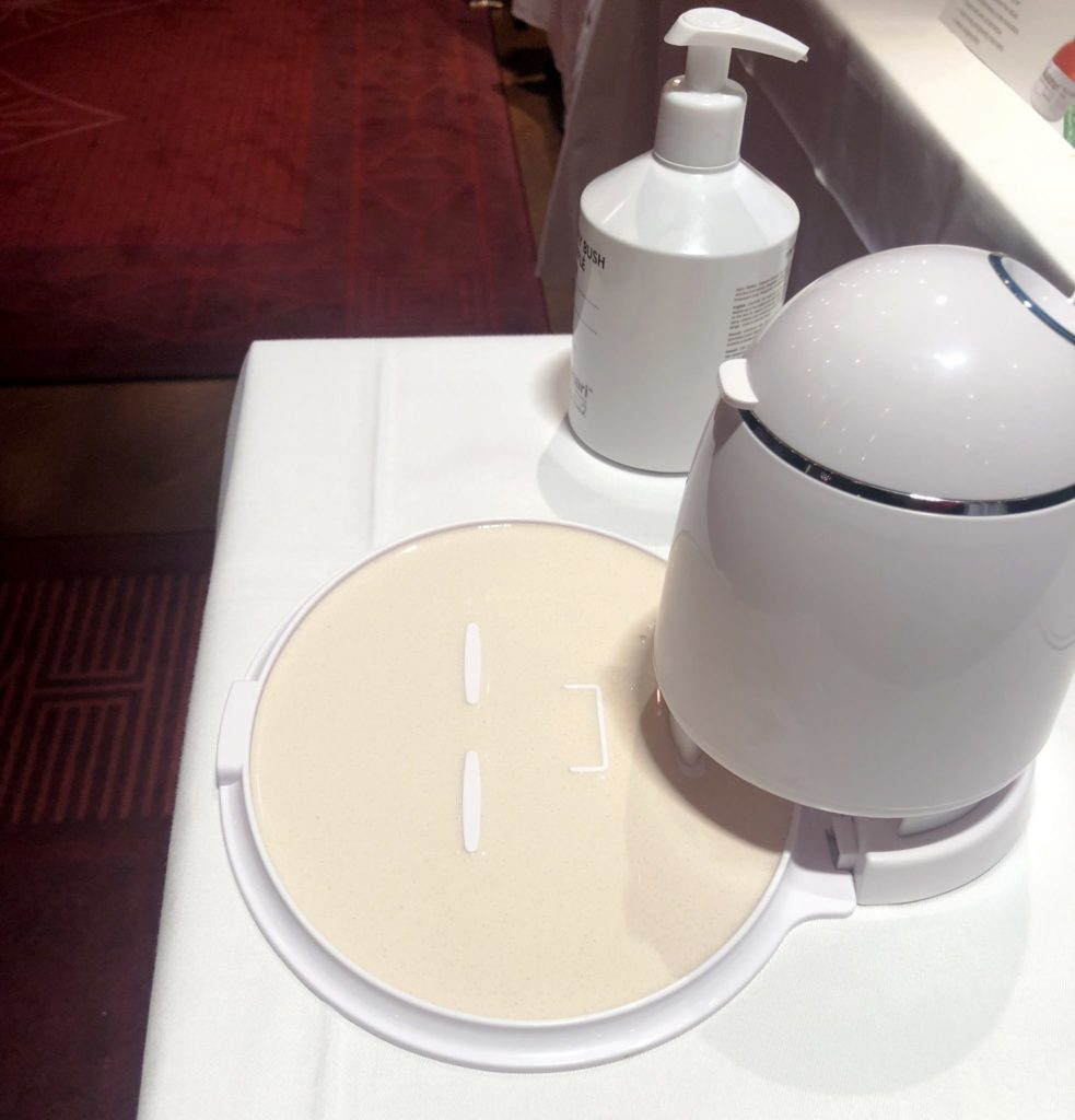 Kalahari ansiktsmask robot