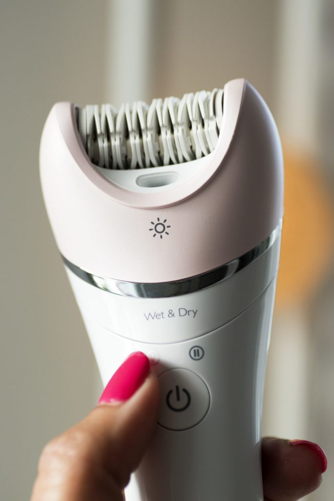 Satinelle Advanced Epilator med borste
