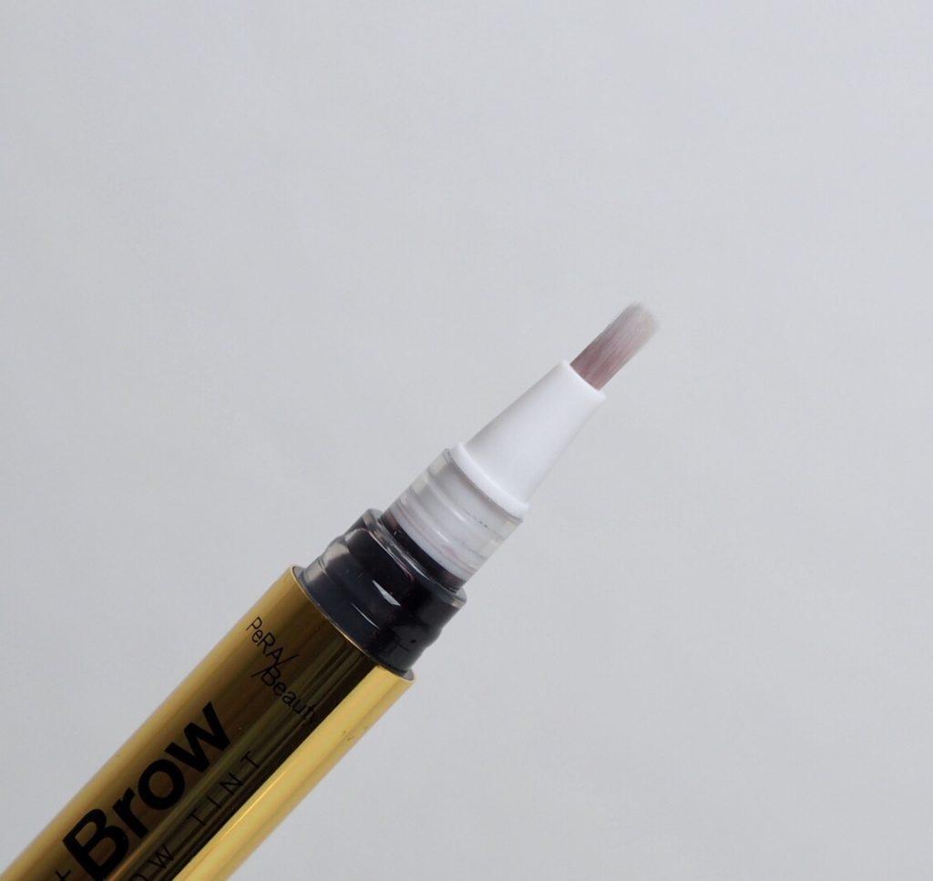 brynfärg i smart penna