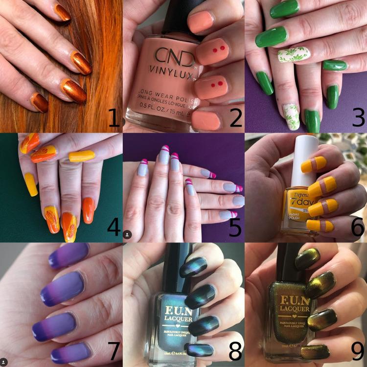 9 nagelfavoriter