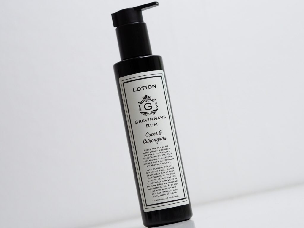 Handgjord body lotion