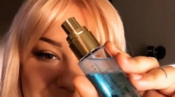 Linda Hallberg Cosmetics H2Glow Face mist