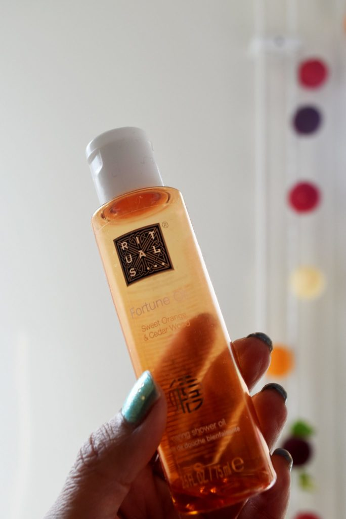 Rituals Sweet Orange And Cedar Shower Oil