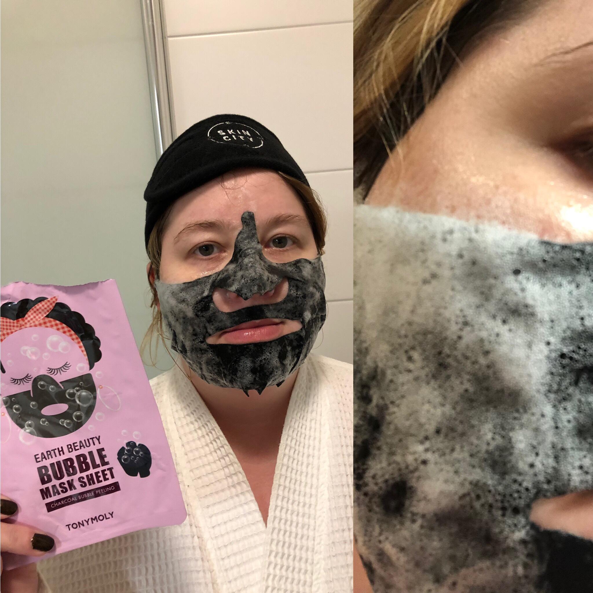 Tonymoly Earth Beauty Bubble Sheet Mask