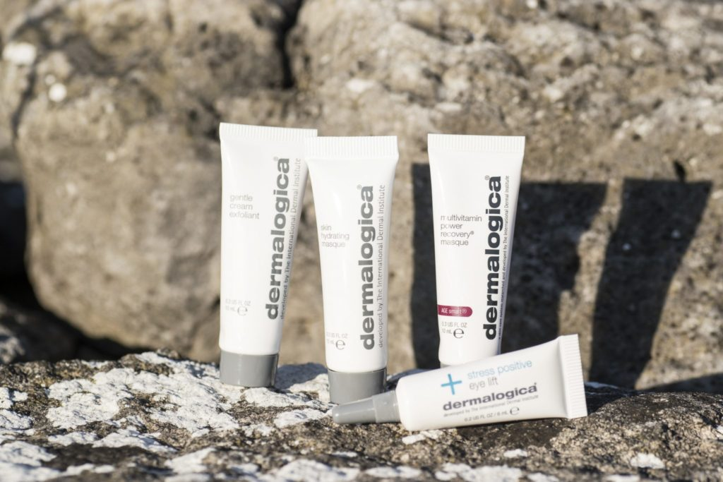 Dermalogica masque kit Skin hydrating Masque Gentle Cream Exfoliant Multivitamin Power Recovery Masque Stress Positive Eye Lift