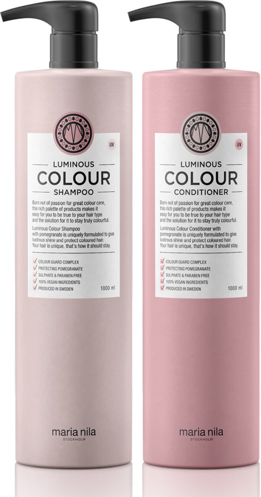 maria nila colour care schampo och balsam