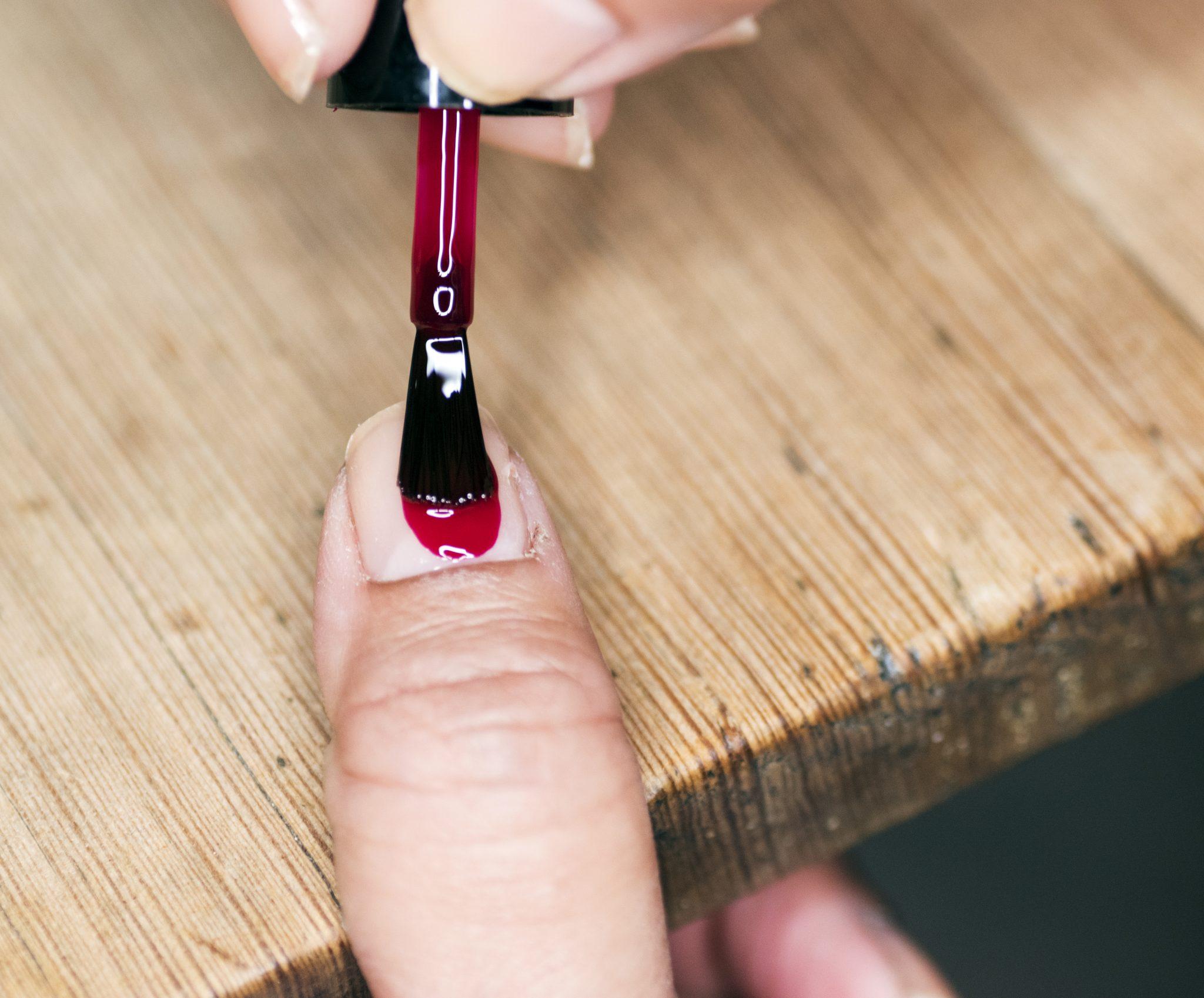 snygga naglar steg för steg