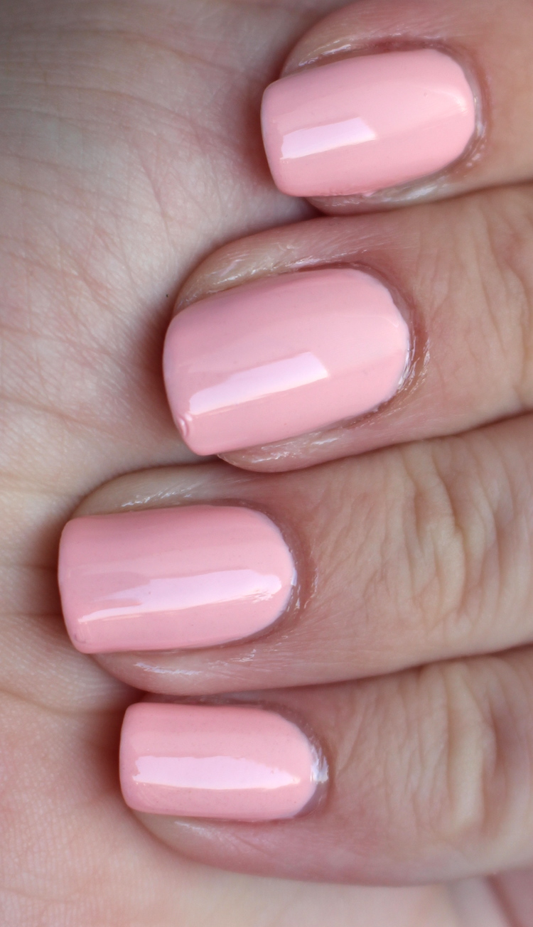 Barry M Pink laces
