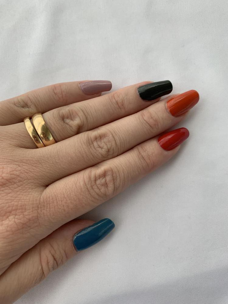 Skittle med OPI Scotland collection