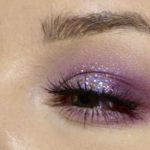 lila och glitter