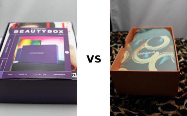 Goodiebox vs Lookfantastic Beautybox oktober 2019