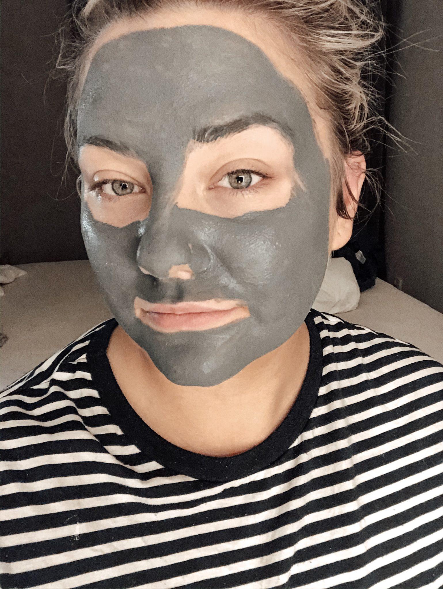djuprengörande mask