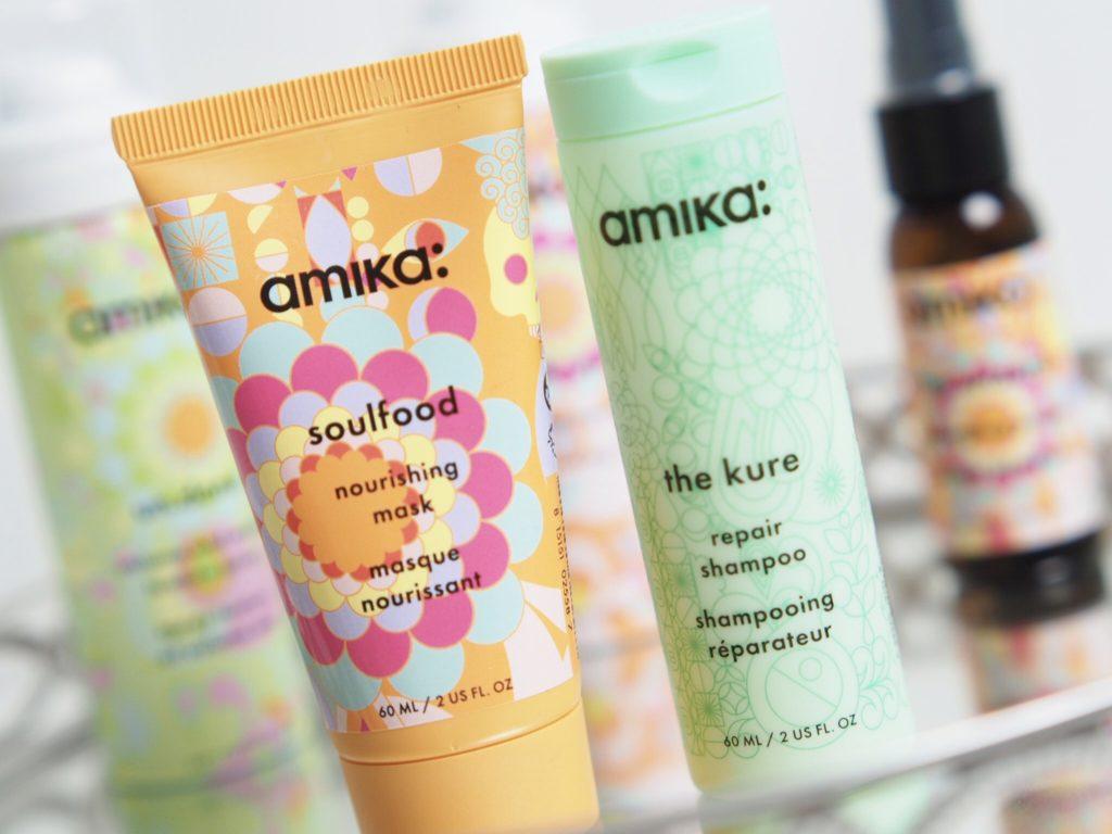 Testar hårvård från Amika