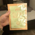 pixi glycolic boost sheet mask