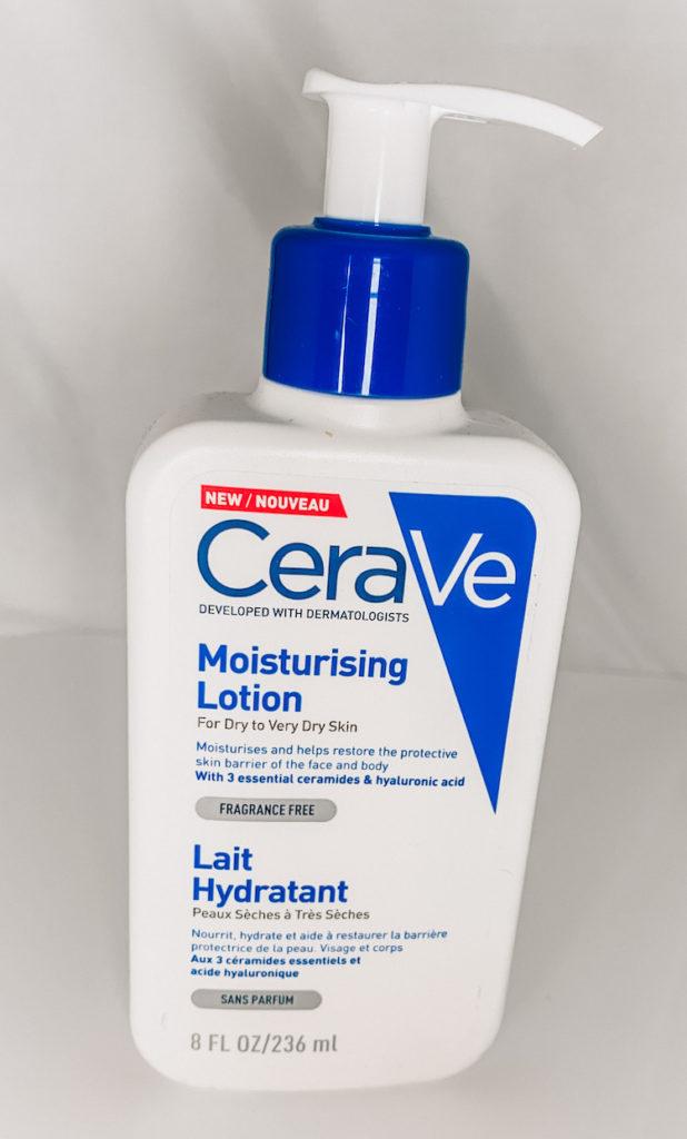 Trevlig återfuktare CeraVe Moisturising lotion