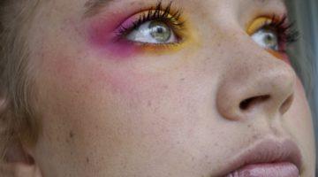 gul och rosa