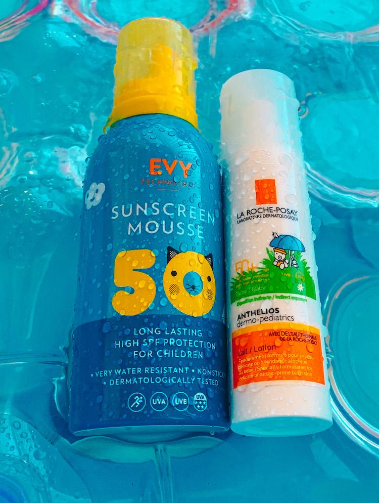 solskydd för barn