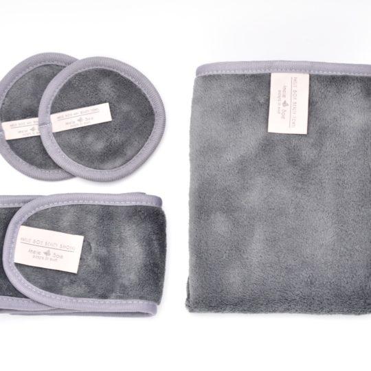 Amelie Soie Beauty Towel Mini duo-pack, Beauty Towel och Bandeau