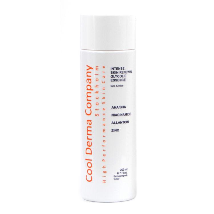 Cool Derma Intense Skin Renewal Glycolic Essence, 200 ml