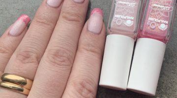 Två nyanser av rosa