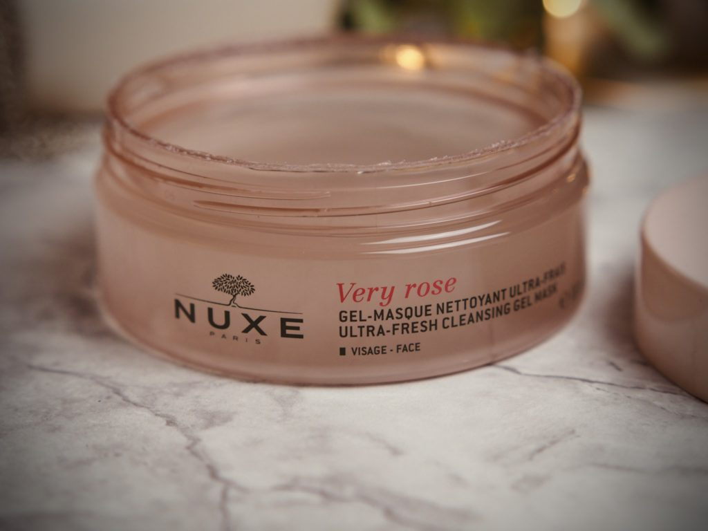 Nuxe Very Rose Cleansing Gel Mask
