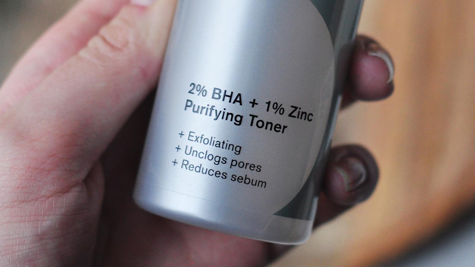 Beauty Act 2% BHA + 1% Zinc Purifying Toner