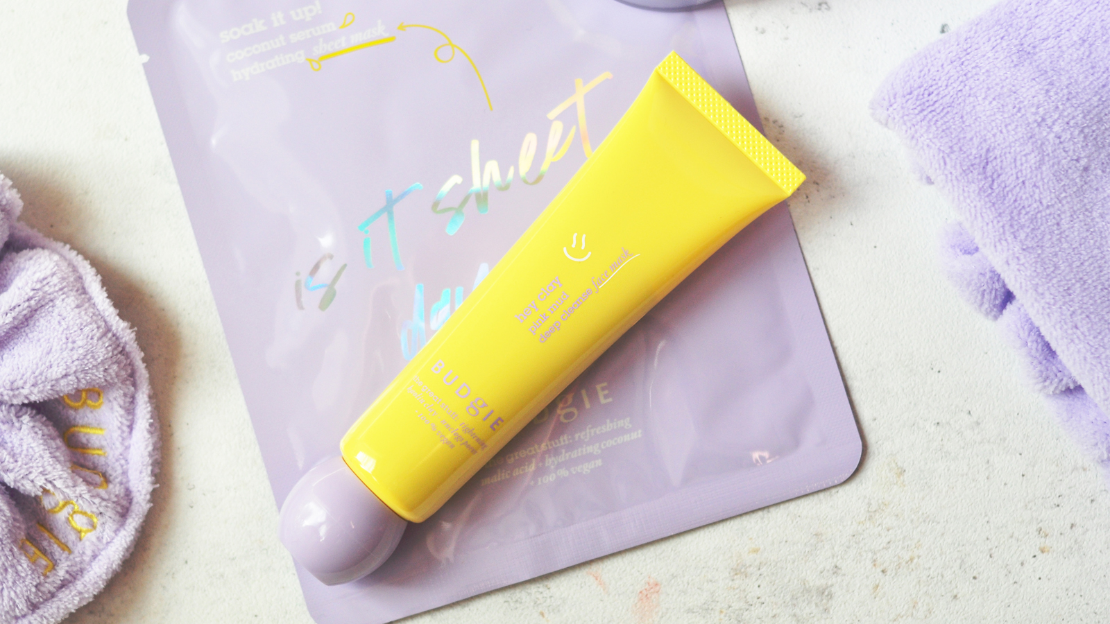 Budgie Hey Clay Deep Cleansing Mask