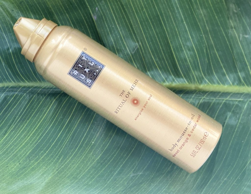 Rituals Body Mousse-to-Oil