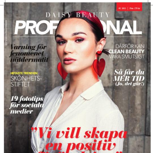 Omslag Daisy Beauty Professional med Tone Sekelius